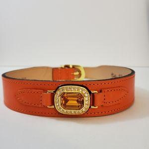 🐕 Hartman & Rose - Luxury dog collar - Gold and Swarovski